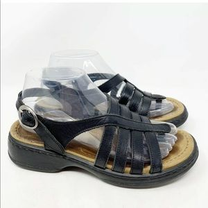 Dansko Evita strappy clog sandals
